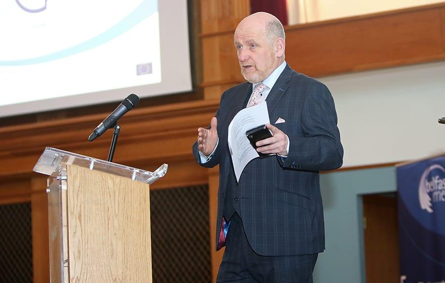 Paul McCormack, Belfast Met innovation manager