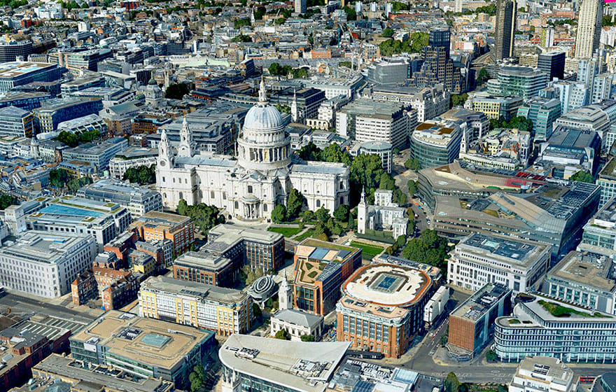 London will be one of the first cities to be mapped