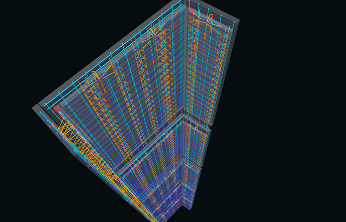 Designs executed in the CADS Revit extension can be forwarded to the project BIM model for construction coordination on site