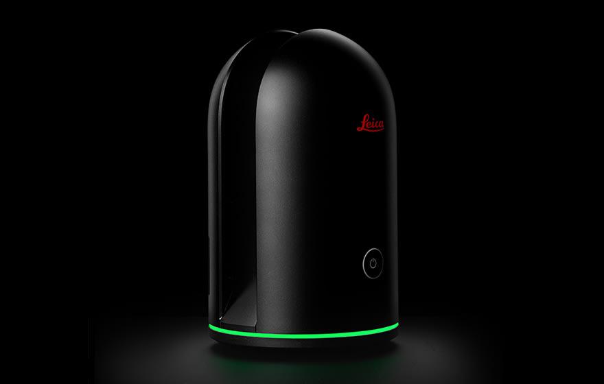 Leica's BLK360 scanner