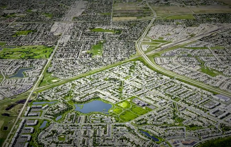 SketchUp plugin has been used to visualise plans for a new community in Brighton, Canada