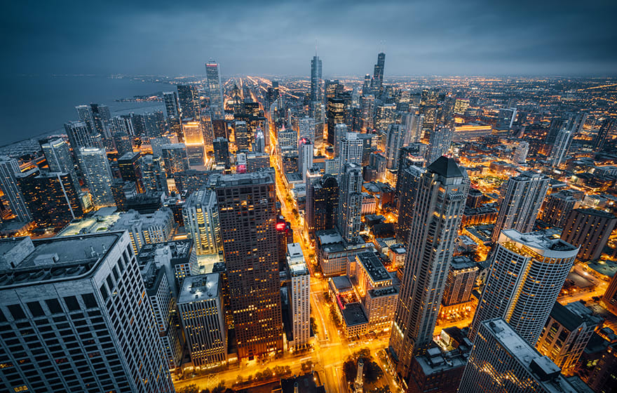Image: Cities like Chicago are producing 3D models to help masterplanning Juliengrondin/Dreamstime