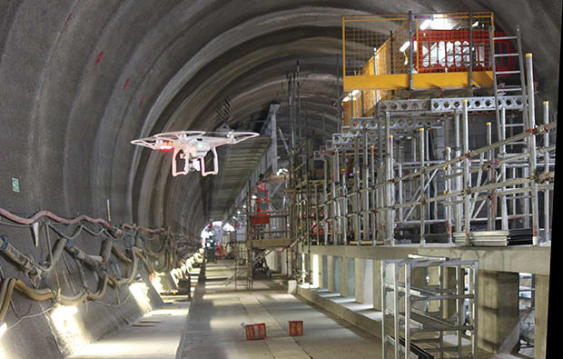 Crossrail has been an exemplar in pushing new technology across the project