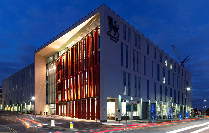 The Curzon building at Birmingham City University was delivered to BIM Level 2