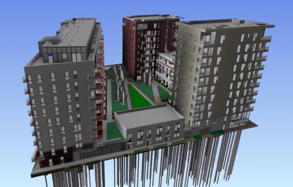 BIM.Technologies used 4D simulation on designs for Greenwich Peninsula