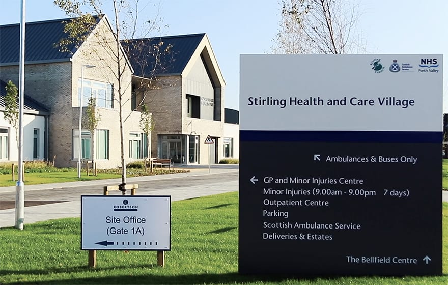 The Stirling Health & Care Village is the first project of its kind in Scotland