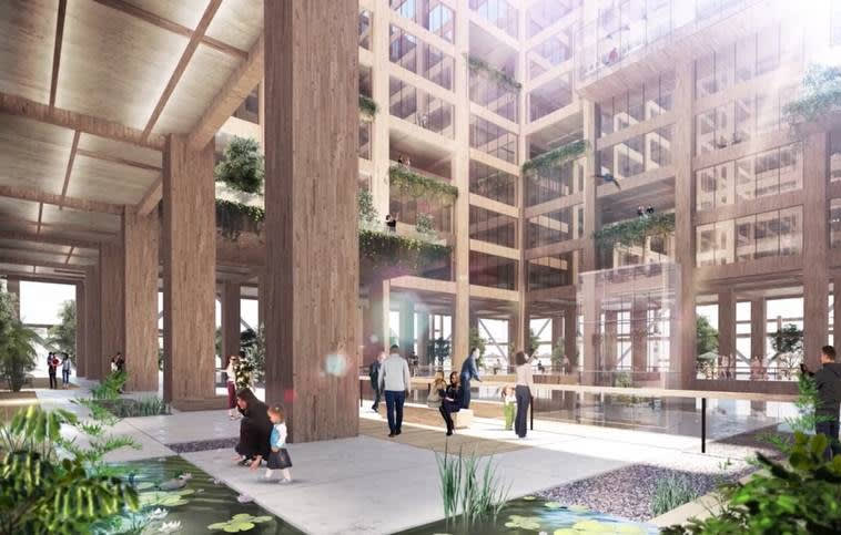 Japan plans to take timber high-rise construction to new