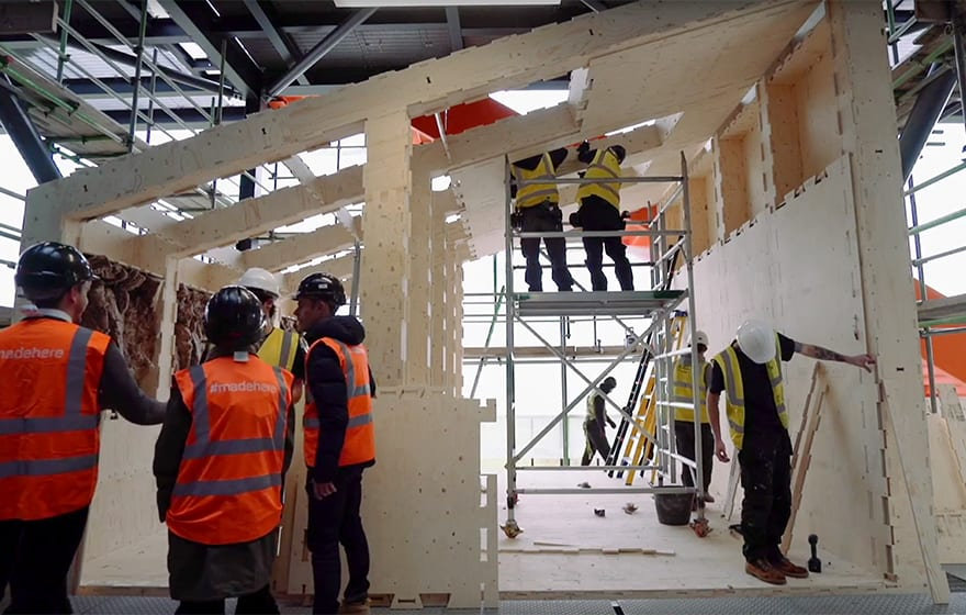 VIDEO: WikiHouse open source technology scales up in east London | BIM+