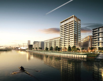Tate Consulting has recently provided a full-duties MEP design for a pre-cast construction, 198-unit residential tower block at the Royal Wharf development in London