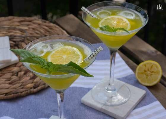 Cocktail à l'ananas