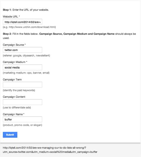 Rastrear campanhas no Google Analytics