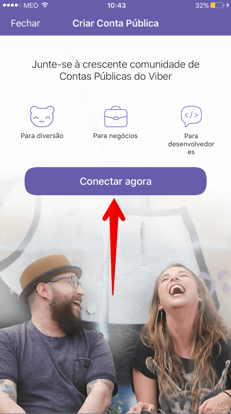 conectar Viber