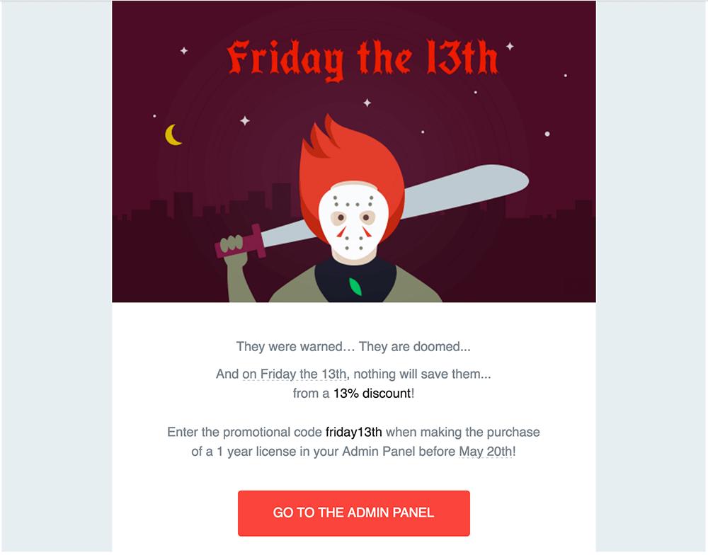 JivoChat exemplo Black Friday