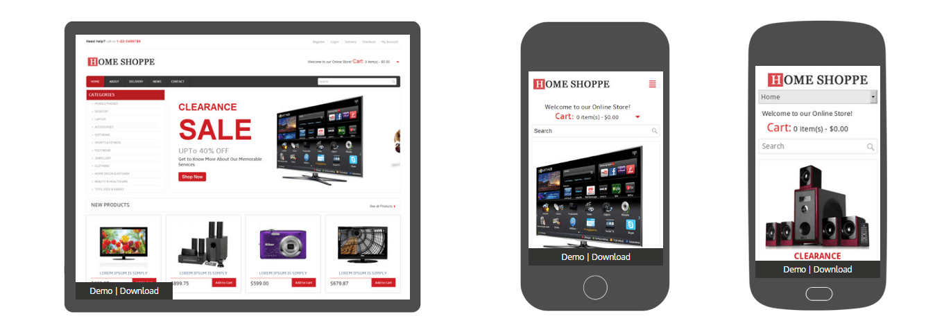 Home Shoppe Online