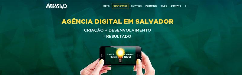 Banner da Abrasivo Digital