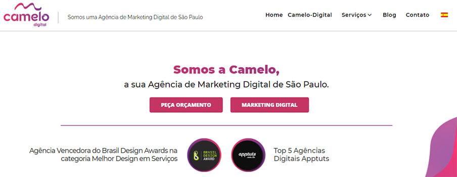 Banner da Camelo Digital