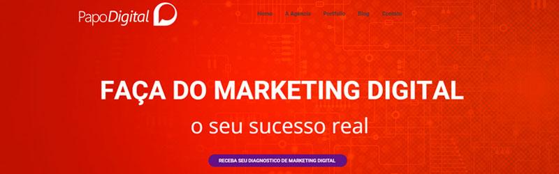 Banner da Agência Papo Digital