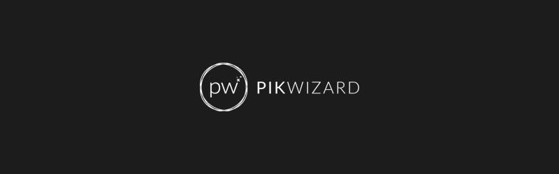 Logo do banco de imagens Pikwizard