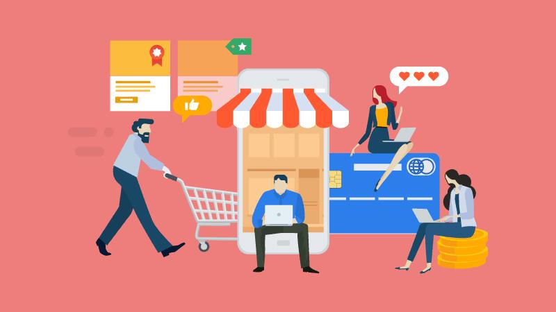 Foque na experiência de compra