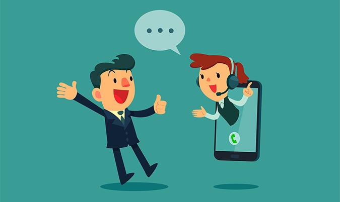 Atenda bem ao consumidor mobile