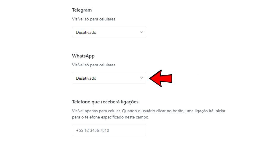 Como criar botão no WhatsApp