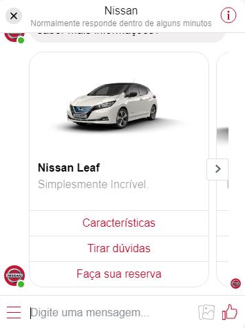 Exemplo da Nissan