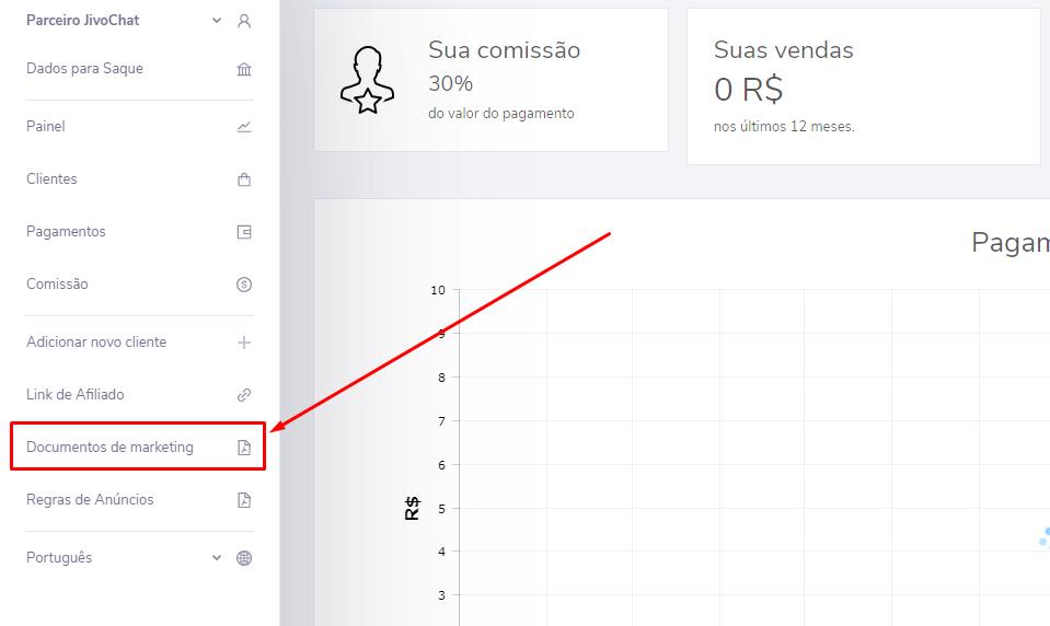 Como afiliados podem vender o JivoChat utilizando nosso press kit