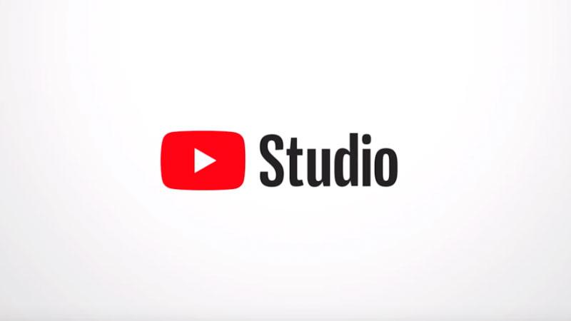 logo do youtube studio