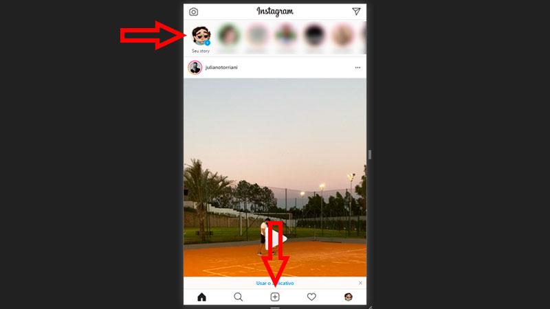 Postando no Instagram pelo Google Chrome passo 2