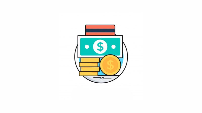 Cédula e moedas