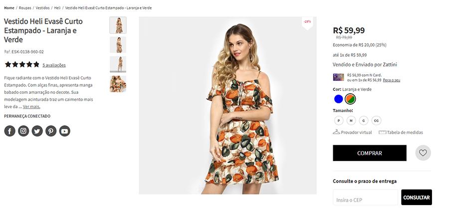Como vender roupas pela internet como a Zattini