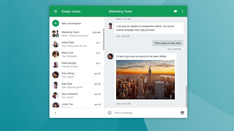 Google Hangouts para comunicação empresarial