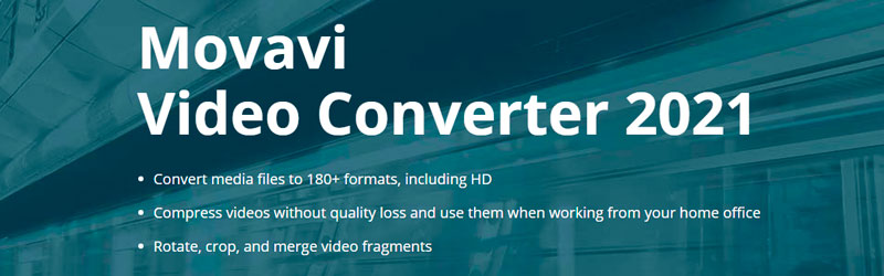 Banner do Movavi Video Converter 2021