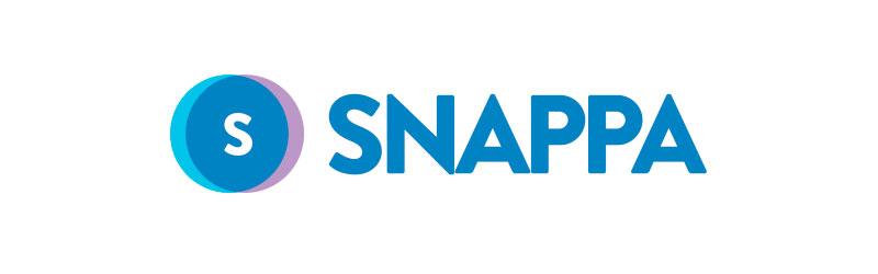 logo do editor de imagens Snappa