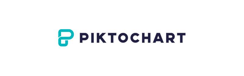 logo do editor de imagens Piktochart