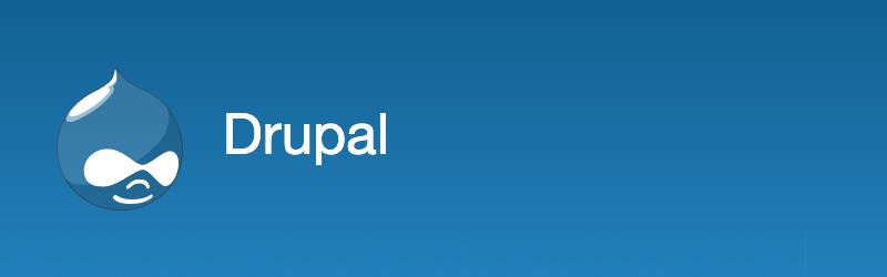 Logo da empresa Drupal