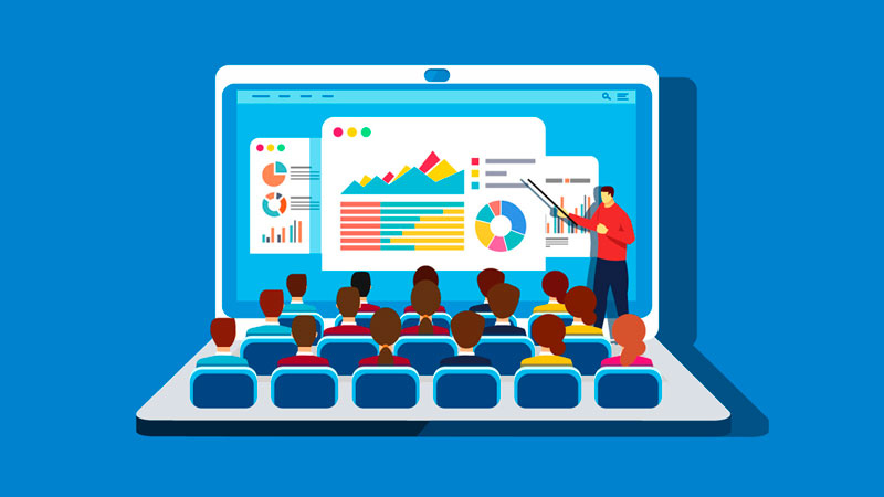 Aprendendo sobre Google Ads em aulas pelo notebook