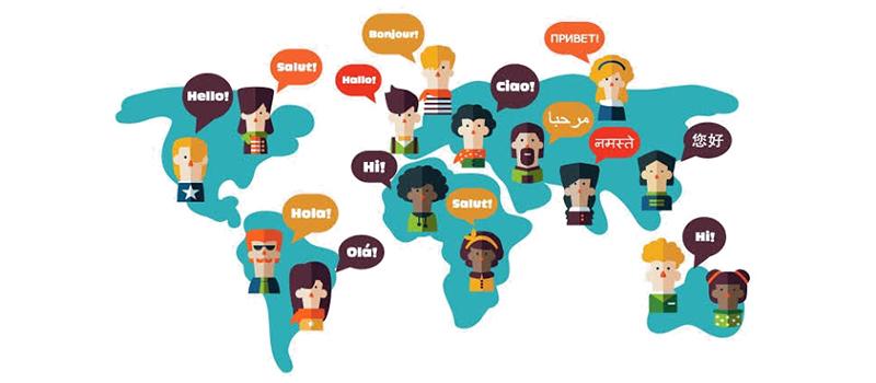Atendimento multilíngue
