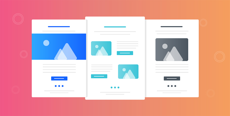 Use well designed email marketing layouts