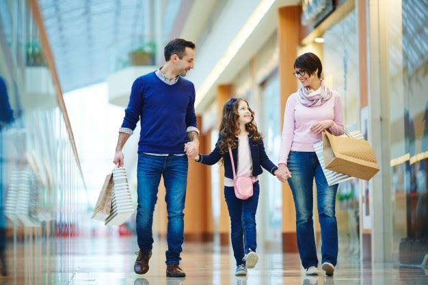 E-mail marketing para informar sobre a inauguração de um novo shopping