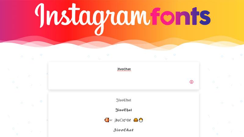 Instagram Fonts
