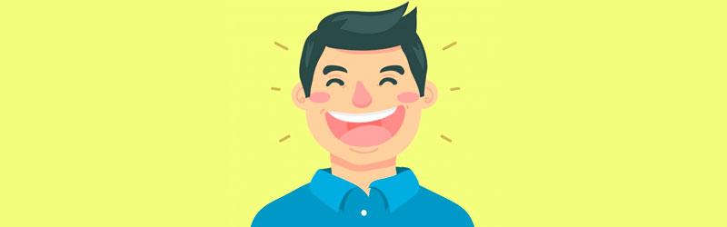 Pessoa sorrindo