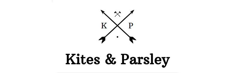 nome e logo criado com o hipster business chamdo kites & parsley