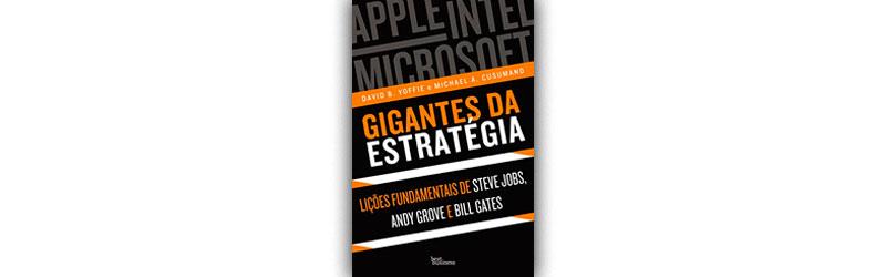 Livro Gigantes da estratégia