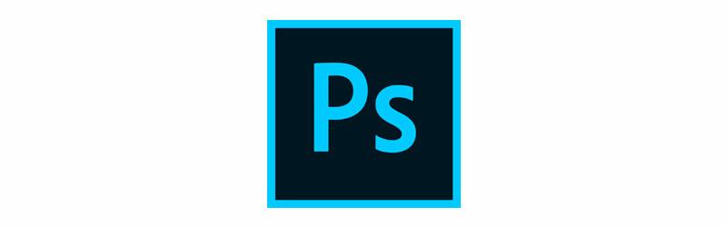Logo do software Photoshop