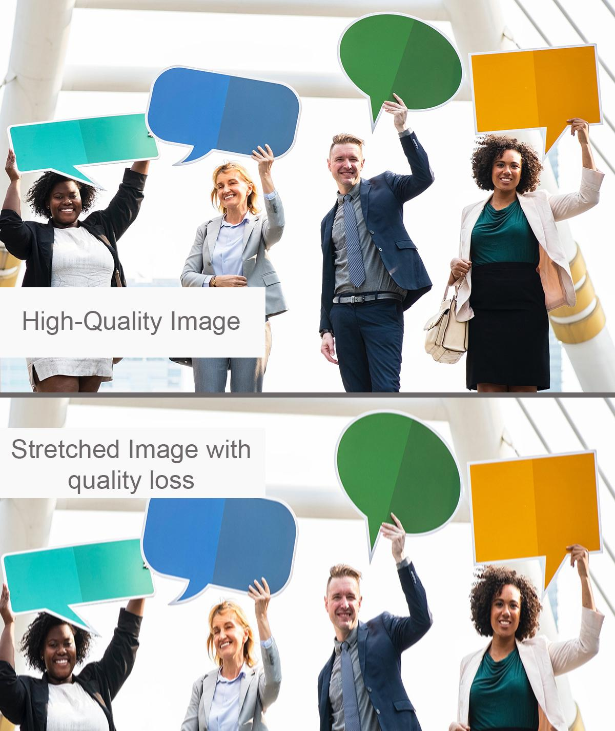 How to Have High-Quality Images Example