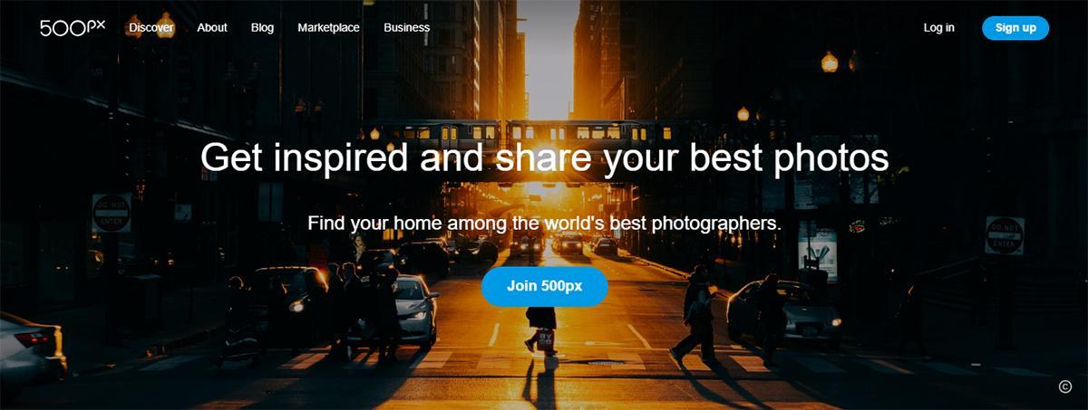 500px Website