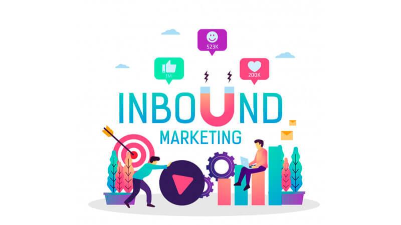 Equipe trabalhando em Inbound Marketing