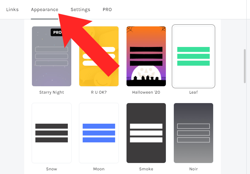 Como personalizar sua página