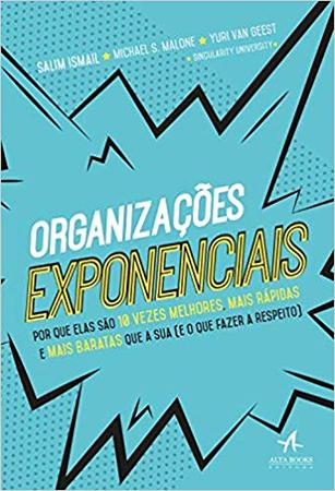 Capa do Livro organizações exponenciais